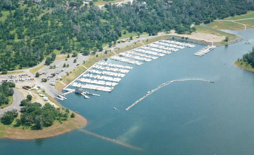 Aerial picture of Marina Basin